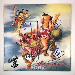 Stone Temple Pilots Scott Weiland Signé Autographié Violet Vinyl Proof