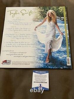 Taylor Swift A Signé L'album Éponyme Vinyl Record Beckett Coa