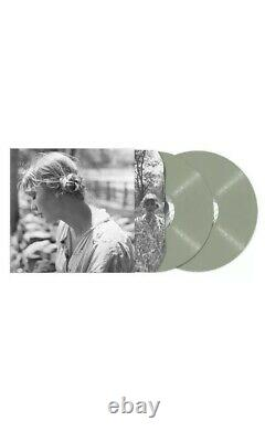 Taylor Swift Folklore Ensemble Complet De 9 Edition Limitée 2lp Vinyl + CD Signé. Menthe