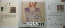 Taylor Swift Signé Autographe 1989 Album D'enregistrement De Vinyle Lp Jsa/otf Loa