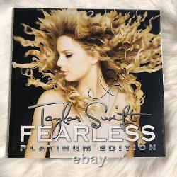 Taylor Swift Signé Fearless Vinyle Rsd Autographe Authentique