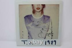Taylor Swift Signed Autograph Album Vinyl Record 1989 Lover, Folklore, Rouge