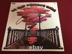The Velvet Underground Signed Vinyl Lp Lou Reed Loaded Proof