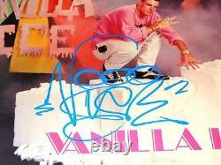 Vanilla Ice Rare Signé 12 Vinyl Record Hooked 1st Pressing 1990 Ice Ice Baby