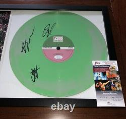 Wallows Full Band Signé Spring Ep Vinyl Record Album Autographe Dylan Minnette