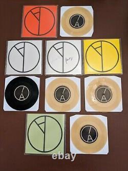 Yard Act Dark Days Full Set Vinyl Record 7 Singles X5 Signed, Ltd, Numéro